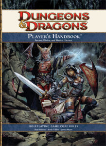 Dungeons and Dragons 4th Edition Players Handbook